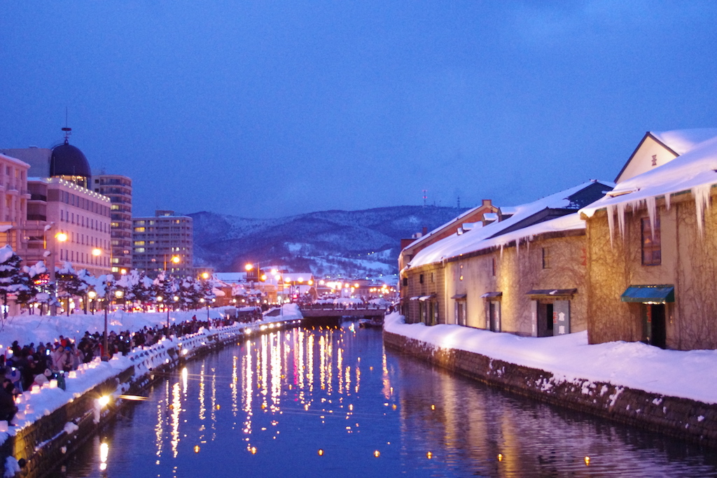 Otaru Snow Light Path