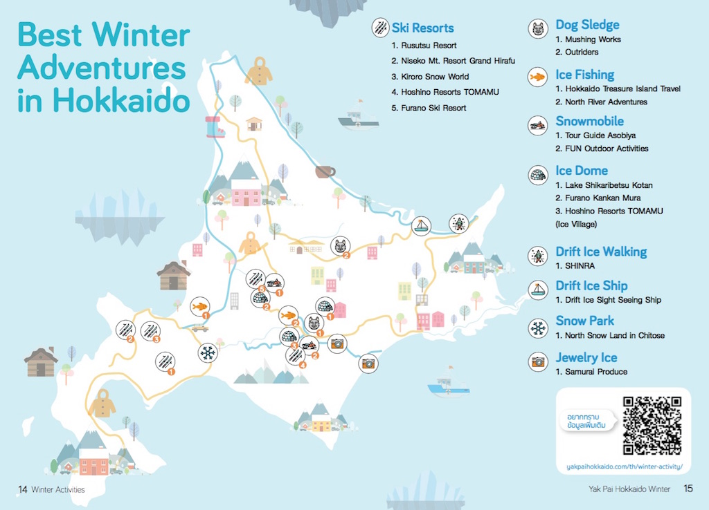 Winter Activities Only in Hokkaido